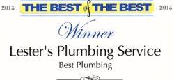 2013 Wake Forest Plumber Winner - Lester's Plumbing Service