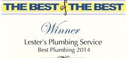 2014 Wake Forest Plumber Winner - Lester's Plumbing Service