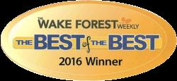 2016 Wake Forest Plumber Winner - Lester's Plumbing Service